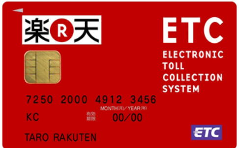 Applying Rakuten credi card in English support online